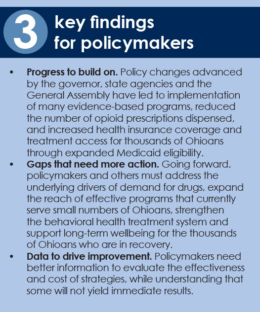 3 key findings for policymakers